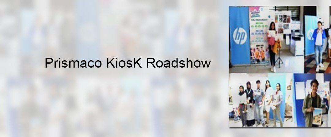 Prismaco KiosK Roadshow